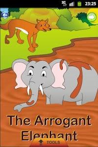 Arrogant Elephant - Kids Story screenshot 0