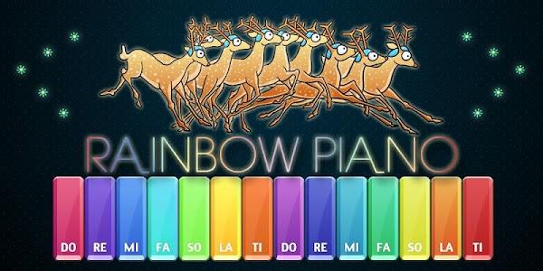Rainbow Piano screenshot 0