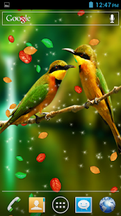 Falling Leaves Live Wallpaper Android Download Birds 3d Live Wallpaper Android Apps On Google Play