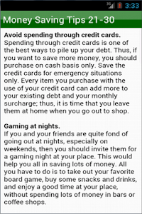 How To Save Money screenshot 1