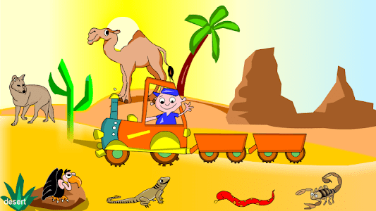 Kids Animal Game-Zoo TrainFULL screenshot 6