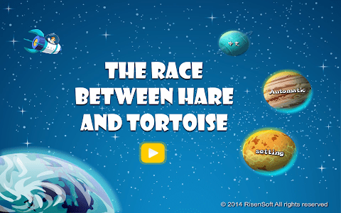 Race between Hare and Tortoise screenshot 0