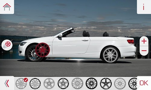 AEZ Wheels Configurator screenshot 2