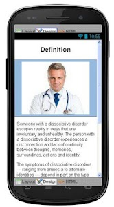 Dissociative Disorders Disease screenshot 1