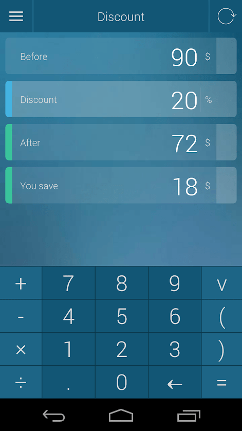 calculator percentage increase decrease