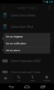 Camo Tones - Secret Ringtones screenshot 2