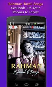A R Rahman Tamil Songs screenshot 0