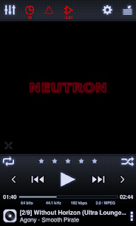Neutron Music Player (Eval) screenshot 00