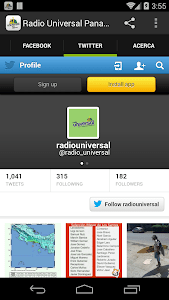 RADIO UNIVERSAL PANAMA screenshot 3