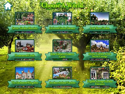 Hidden Objects Secret Gardens! screenshot 13