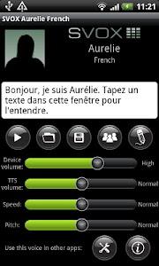 SVOX French Aurelie Voice screenshot 0