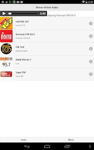 Khmer Online Radio screenshot 0