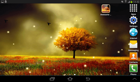 Awesome Land Live Wallpaper screenshot 15
