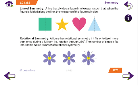 Grade 7 Math Learning Cards screenshot 19