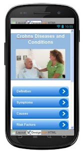 Crohns Disease & Symptoms screenshot 0