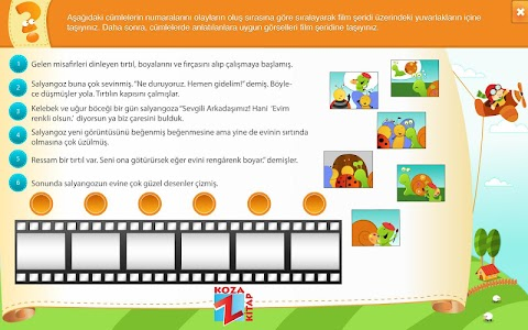 Türkçe 6 KOZA Z-Kitap screenshot 9