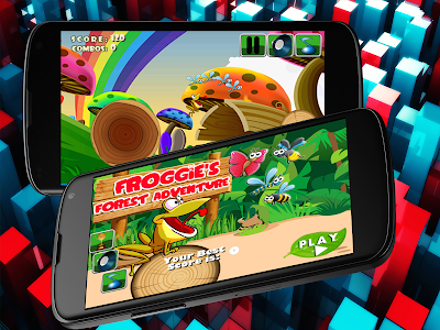 Froggie's Forest Adventure! screenshot 8