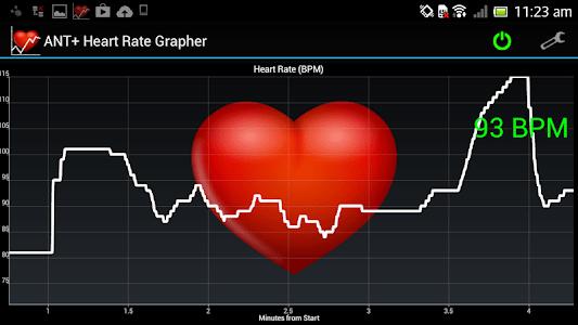ANT+ Heart Rate Grapher screenshot 5