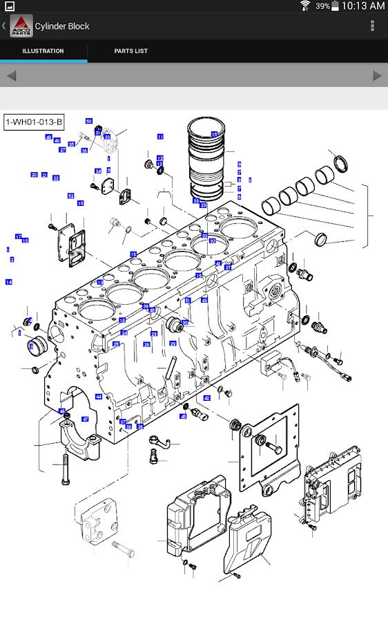 Massey Ferguson Parts Catalog • Wiring And Engine Diagram