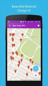 Bus Track: NYC screenshot 1