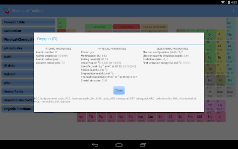 Chemistry Toolbox screenshot 1