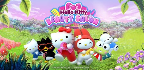 Hello Kitty Beauty Salon Pour PC Capture d'écran