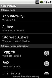 About Activity screenshot 0