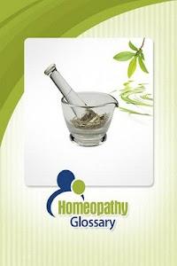 Homeopathy Glossary screenshot 0