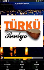 Türkü Radyo Resmi Uygulama screenshot 1