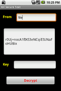 GV Secure Text Pro screenshot 3