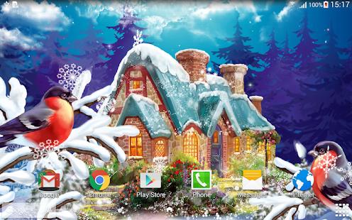 3d Wallpaper Parallax 2017 Apk Winter Landscape Wallpaper Apk For Blackberry Download
