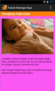 Panduan Memijat Bayi screenshot 2