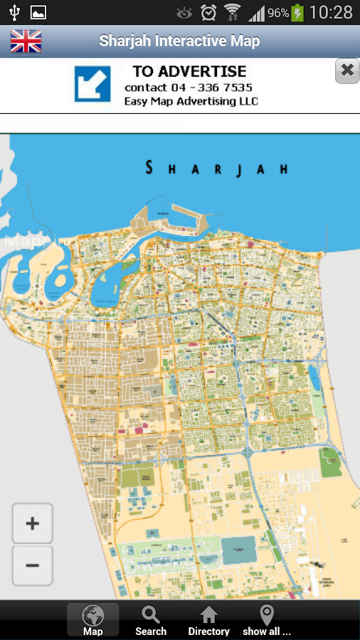 Sharjah Interactive Map Android Apps on Google Play