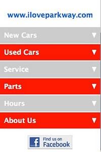 Parkway Nissan screenshot 1