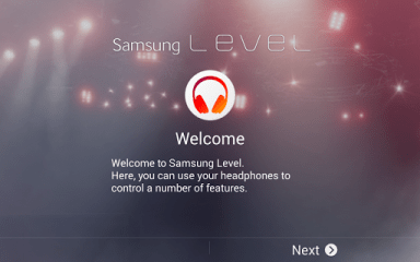 Samsung Level for Tablet Pour PC Capture d'écran
