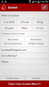 Blood Donor Finder (For BD) screenshot 4