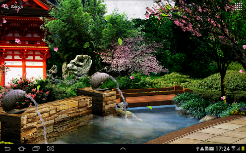 Live Wallpaper Spring Zen Hd 3d Eastern Garden Live Wallpaper Apps On Google Play