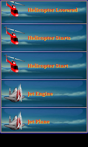 Airplane & Helicopter Ringtone screenshot 7