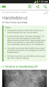 Patienthåndbogen screenshot 1