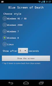 Blue Screen screenshot 0
