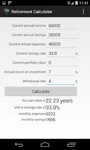 Retirement Calculator - Apps on Google Play