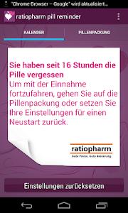 ratiopharm pill reminder screenshot 3