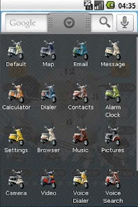 Vespa Classic Full Theme screenshot 1