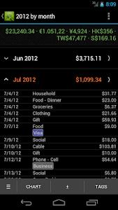 Hello Expense Donation screenshot 2