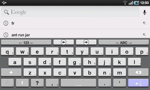 AnySoftKeyboard 3D Theme screenshot 0