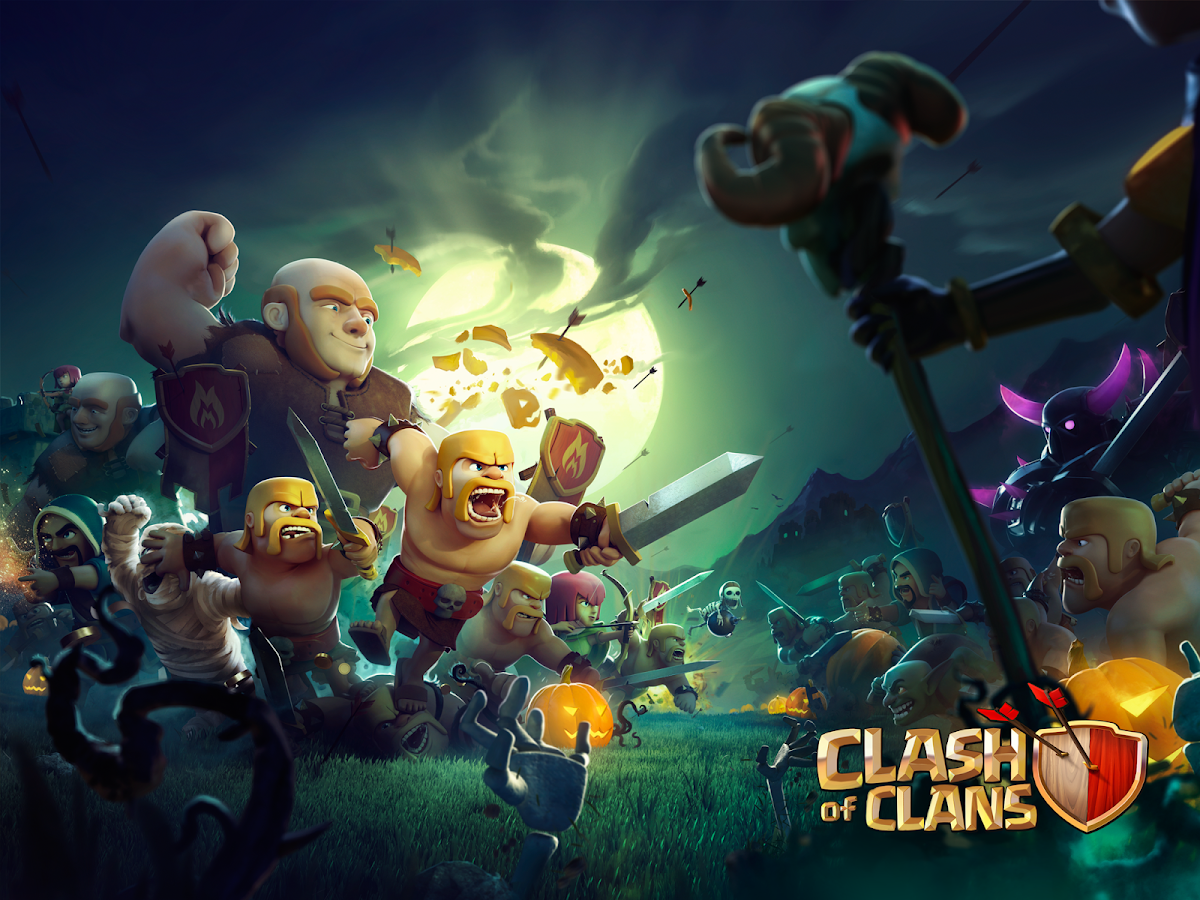 Clash Of Clans Custom Unlimited Mod Hack Apk [update
