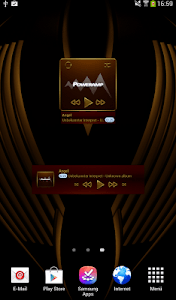 HAMOND Poweramp widget pack screenshot 1
