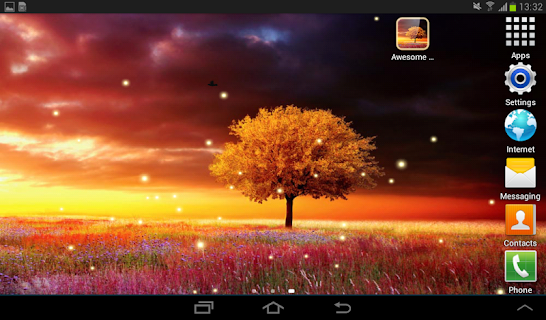 Awesome Land Live Wallpaper screenshot 12