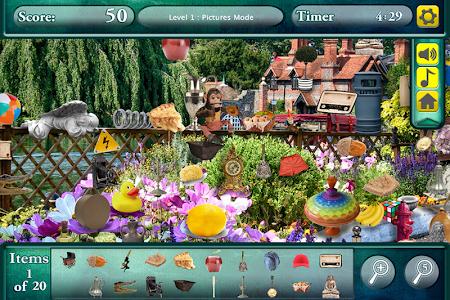 Hidden Objects Secret Gardens! screenshot 4