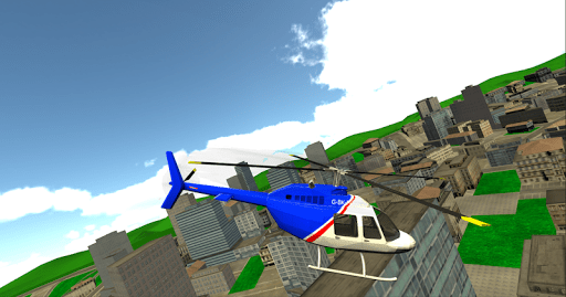 City Helicopter Game 3D APK